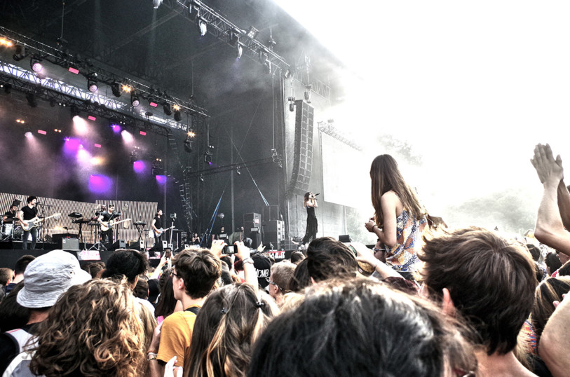 Lilly Wood & the Prick nuit de l'erdre 2015