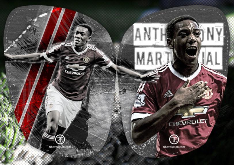 Visuel Anthony Martial football