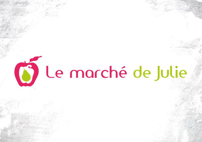 Le marché de Julie Logo