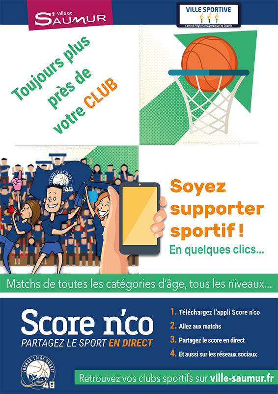 Affiche pour Saumur Basket