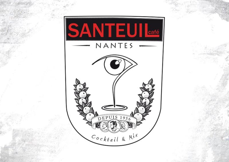 Blason Santeuil Café Nantes