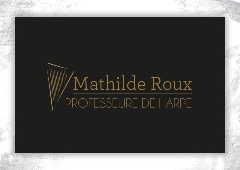 recote carte de visite Mathilde roux