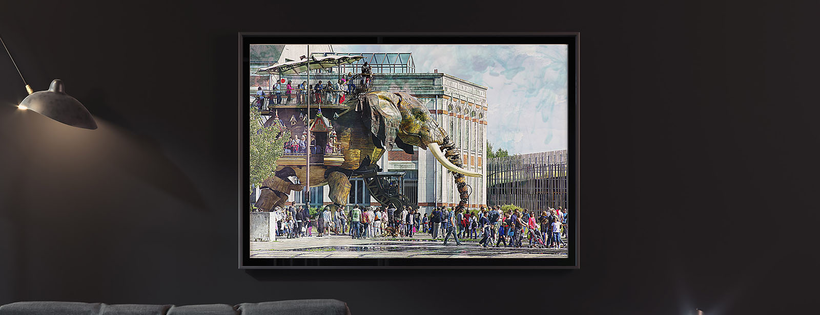 L'éléphant des machines de Nantes en cadeau